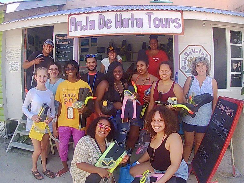 Anda De Wata Tours- Artemio - Kathrina Morera - Snorkeling Belize