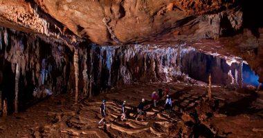 Actun Tunichil Muknal - the skeletal remains - Inland Adventures -The Maya underworld - ATM Caves - Anda De Wata Tours – Belize