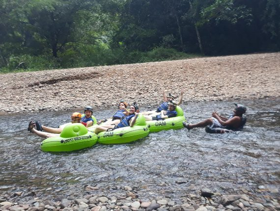 Cave Tubing - Inland Adventures - Hike through the jungle - Float through the Maya underworld - Anda De Wata Tours - Belize