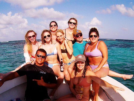 Manatee Tour - Snorkel Tours - Belizes Manatee - Anda De Wata - Sand Bar lunch access - Enjoy two killer snorkel stops along Belizes Barrier Reef.