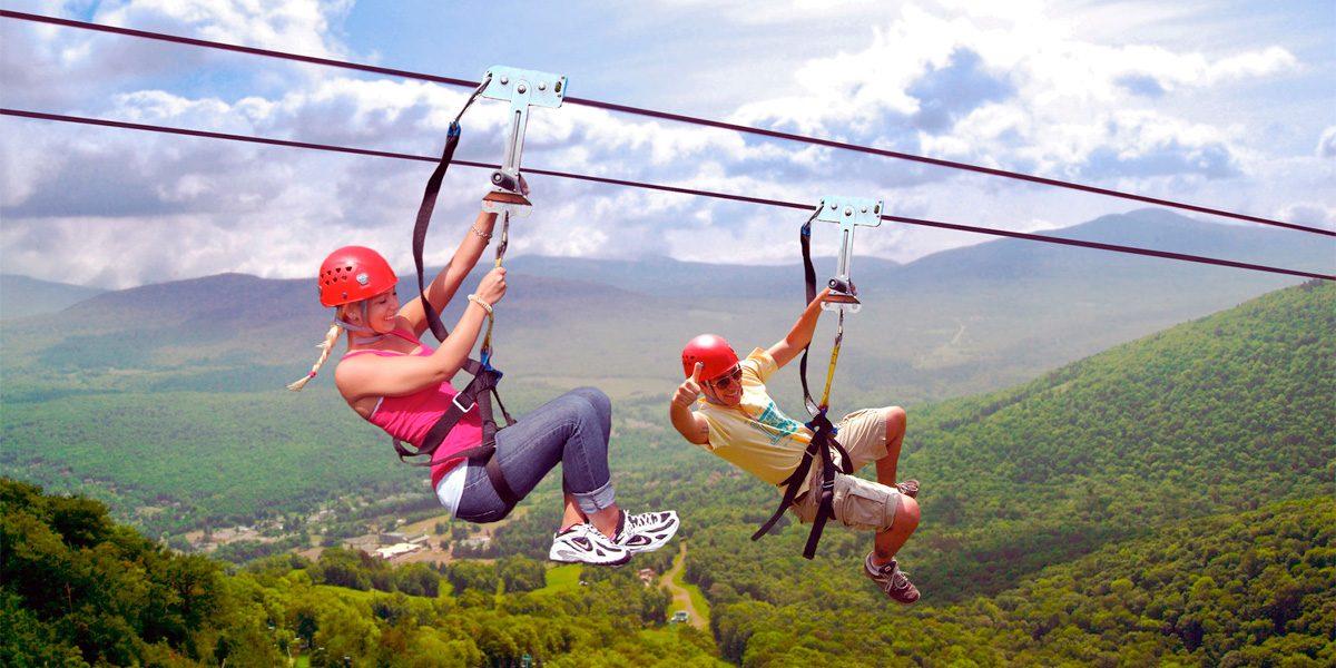 Zip Lining - Inland Adventures - Zip through Belize's jungle - Cross Rivers - Exotic animals - Anda De Wata Tours